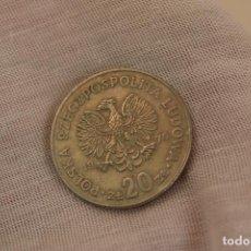 Monedas antiguas de Europa: POLONIA 20 ZLOTYCH, 1974-1983. Lote 276107698