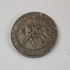 Monedas antiguas de Europa: GRAN MONEDA ELIZABETH II 1977. Lote 276108633