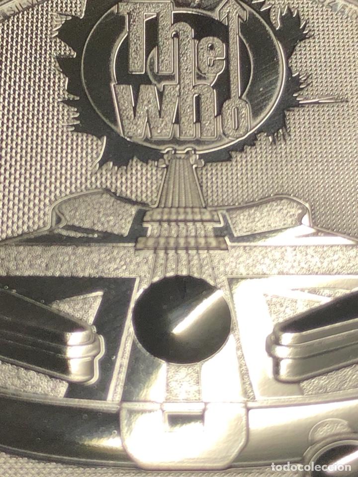 Monedas antiguas de Europa: Moneda lingote onza de plata pura - THE WHO 2021 Inglaterra - Foto 6 - 276373048