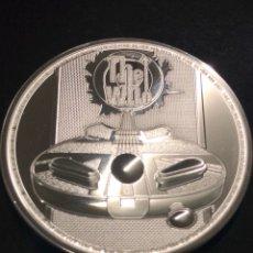 Monedas antiguas de Europa: MONEDA LINGOTE ONZA DE PLATA PURA - THE WHO 2021 INGLATERRA. Lote 276373048