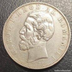 Monedas antiguas de Europa: RUMANÍA, MONEDA DE PLATA DE 5 LEIS, AÑO 1883B. Lote 276619378