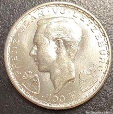 Monedas antiguas de Europa: LUXEMBURGO, MONEDA DE PLATA DE 100 FRANCOS, AÑO 1946. Lote 276642363
