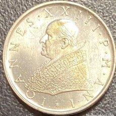 Monedas antiguas de Europa: VATICANO, MONEDA DE PLATA DE 500 LIRAS, AÑO 1959. Lote 276775798