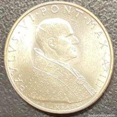 Monedas antiguas de Europa: VATICANO, MONEDA DE PLATA DE 500 LIRAS, AÑO 1965. Lote 276780868