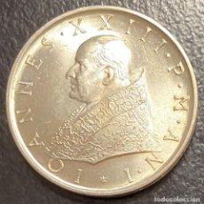 Monedas antiguas de Europa: VATICANO, MONEDA DE PLATA DE 500 LIRAS, AÑO 1959. Lote 276792918