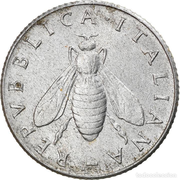 [#836096] MONEDA, ITALIA, 2 LIRE, 1955, ROME, MBC, ALUMINIO, KM:94 (Numismática - Extranjeras - Europa)