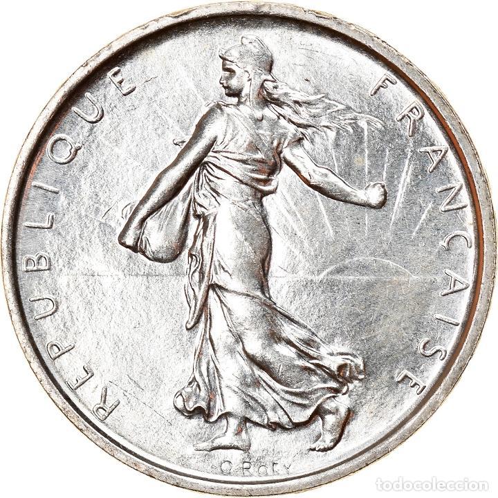 [#840882] MONEDA, FRANCIA, SEMEUSE, 5 FRANCS, 1969, PARIS, SC, PLATA, KM:926, GADOURY:770 (Numismática - Extranjeras - Europa)