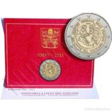 Monedas antiguas de Europa: 2€ VATICANO 2015 - VIII ENCUETRO FAMILIAS. Lote 277115153