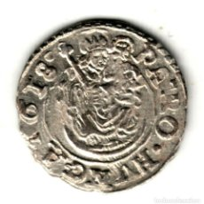 Monedas antiguas de Europa: HUNGRIA DENARIO PLATA 1618 K.B. EMPERADOR MATIAS II - MATÍAS DE HABSBURGO. Lote 277171198