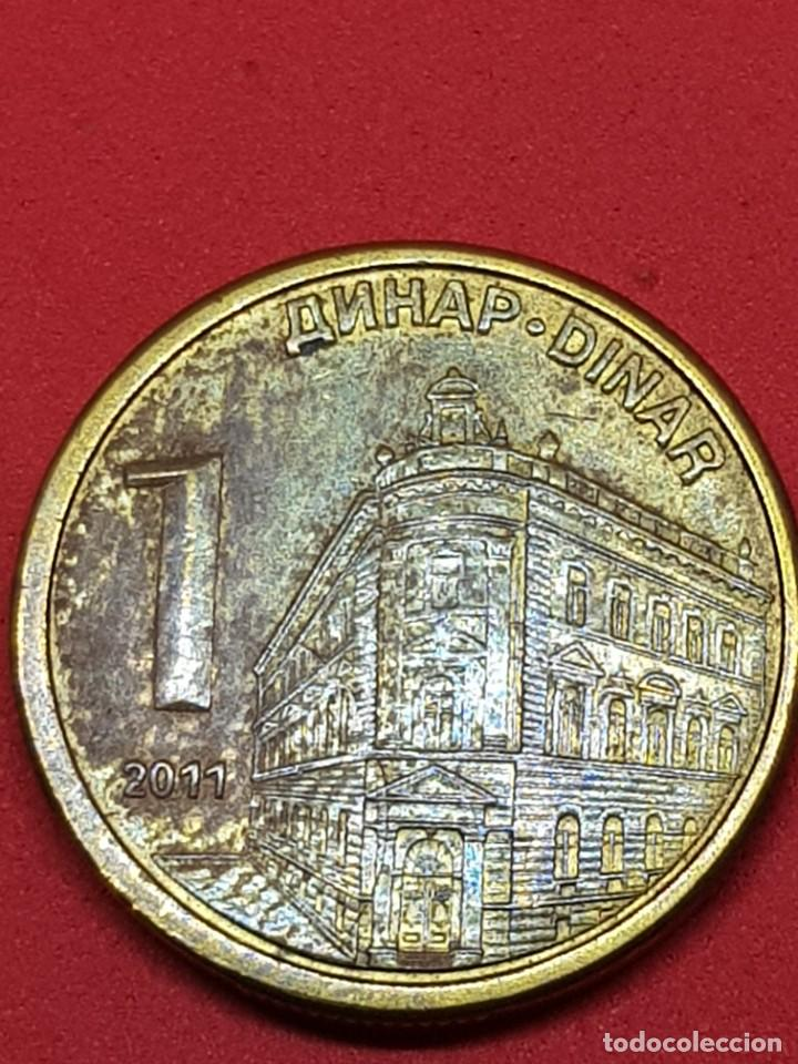 1 DINAR 2011 SERBIA (Numismática - Extranjeras - Europa)