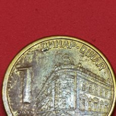 Monedas antiguas de Europa: 1 DINAR 2011 SERBIA. Lote 277262553