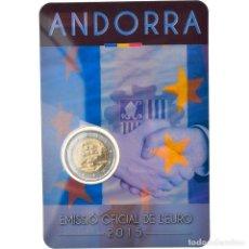 Monedas antiguas de Europa: [#820877] ANDORRA, 2 EURO, CUSTOMS AGREEMENT WITH THE EUROPEAN UNION, 2015, FDC. Lote 277306243