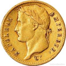 Monedas antiguas de Europa: [#903889] MONEDA, FRANCIA, NAPOLÉON I, 20 FRANCS, 1813, UTRECHT, MBC, ORO, KM:695.11. Lote 277306258