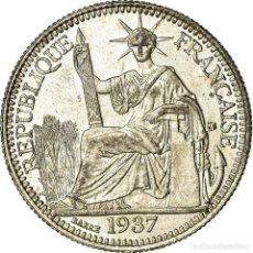 Monedas antiguas de Europa: [#486563] MONEDA, INDOCHINA FRANCESA, 10 CENTS, 1937, PARIS, EBC, PLATA, KM:16.2. Lote 277306303
