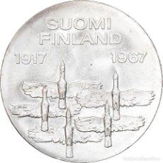 Monedas antiguas de Europa: [#907794] MONEDA, FINLANDIA, 10 MARKKAA, 1967, EBC, PLATA, KM:50. Lote 277306378