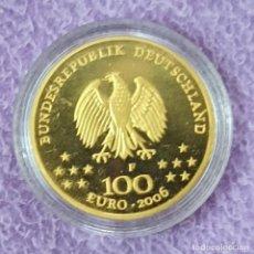 Moedas antigas da Europa: ALEMANIA 100 EUROS ORO 2006 UNESCO 15,55 GRAAM. .999 GOLD. Lote 278235528