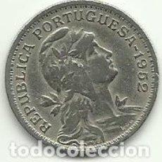 Moedas antigas da Europa: 50 CENTAVOS PORTUGAL - 1952 - FOTOS. Lote 278384018