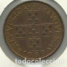 Moedas antigas da Europa: 1 ESCUDO PORTUGAL - 1969 - FOTOS. Lote 278460458