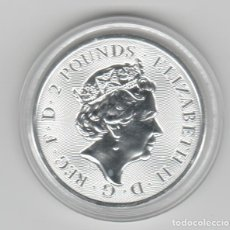 Monedas antiguas de Europa: INGLATERRA- 2IBRAS- 2021-ONZA-PROF-ENCAPSULADA. Lote 278479068