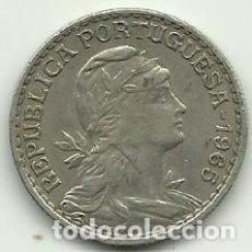 Moedas antigas da Europa: 1 ESCUDO PORTUGAL - 1965 - FOTOS. Lote 278504923