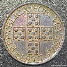 Monedas antiguas de Europa: PORTUGAL 50 CENTAVOS 1977. Lote 278566488