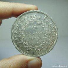 Monedas antiguas de Europa: 5 FRANCOS. PLATA. REP. FRANCESA - PARÍS - 1873. Lote 279372088