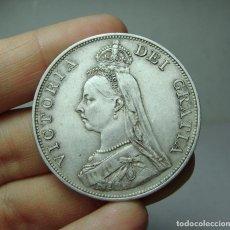 Monedas antiguas de Europa: 1 FLORIN. PLATA. VICTORIA. GRAN BRETAÑA - 1887. Lote 279380173