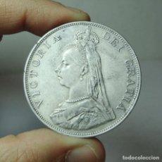Monedas antiguas de Europa: FLORÍN. PLATA. VICTORIA. GRAN BRETAÑA - 1888. Lote 279382403