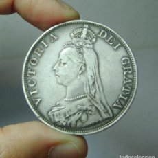 Monedas antiguas de Europa: FLORÍN. PLATA. VICTORIA. GRAN BRETAÑA - 1890. Lote 279382953