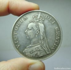 Monedas antiguas de Europa: FLORÍN. PLATA. VICTORIA. GRAN BRETAÑA - 1889. Lote 279402233