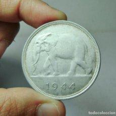 Monedas antiguas de Europa: 50 FRANCOS. PLATA. CONGO BELGA - 1944. Lote 279402763