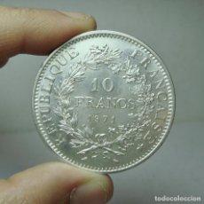 Monedas antiguas de Europa: 10 FRANCOS. PLATA. REP. FRANCESA - 1971. Lote 279404168