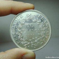 Monedas antiguas de Europa: 10 FRANCOS. PLATA. REP. FRANCESA - 1970. Lote 279404998