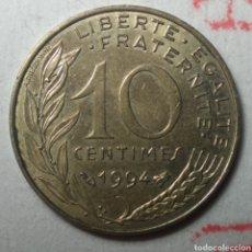 Monedas antiguas de Europa: 10 CÉNTIMOS FRANCIA 1994. Lote 280118253