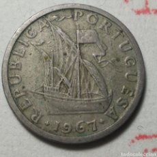 Monedas antiguas de Europa: 2 1/2 ESCUDOS PORTUGAL 1967. Lote 280118623