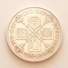 Monedas antiguas de Europa: BONITA MONEDA FLORÍN PLATA JORGE V INGLATERRA 1930. Lote 280127028