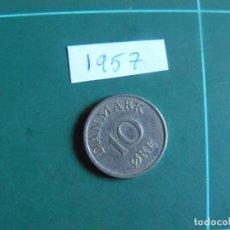 Monnaies anciennes de Europe: MONEDA DE DINAMARCA 10 ORE 1957. Lote 286500138