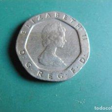 Monnaies anciennes de Europe: MONEDA DE GRAN BRETAÑA 20 PENCE 1982. Lote 286508423