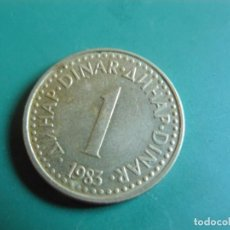 Monnaies anciennes de Europe: MONEDA DE YUGOSLAVIA 1 DINAR 1983. Lote 286529128