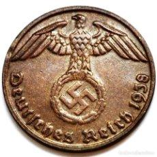 Monete antiche di Europa: ⚜️ A2228. EBC+. 1938 D. 1 REICHSPFENNIG. NAZI III REICH. SUBASTA TODO ALEMANIA. Lote 286742348