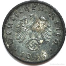 Monete antiche di Europa: ⚜️ A2227. 1940 F. 5 REICHSPFENNIG. NAZI III REICH. SUBASTA TODO ALEMANIA. Lote 286742398