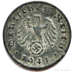 Monete antiche di Europa: ⚜️ A2225. 1941 A. 1 REICHSPFENNIG. NAZI III REICH. SUBASTA TODO ALEMANIA. Lote 286744823