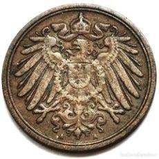 Monete antiche di Europa: ⚜️ A2224. BELLA. 1896 A. 1 PFENNIG. SUBASTA TODO ALEMANIA. Lote 286744893