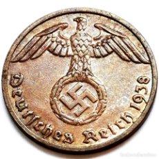 Monete antiche di Europa: ⚜️ A2222. EBC+. 1938 A. 1 REICHSPFENNIG. NAZI III REICH. SUBASTA TODO ALEMANIA. Lote 286745068