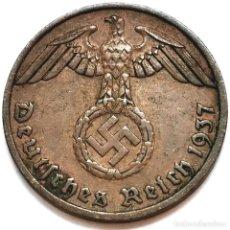 Monete antiche di Europa: ⚜️ A2215. 1937 F. 1 REICHSPFENNIG. NAZI III REICH. SUBASTA TODO ALEMANIA. Lote 286745493