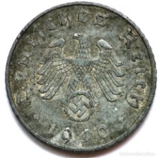 Monete antiche di Europa: ⚜️ A2214. 1940 A. 5 REICHSPFENNIG. NAZI III REICH. SUBASTA TODO ALEMANIA. Lote 286745538