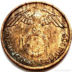 Monete antiche di Europa: ⚜️ A2213. 1939 J. 2 REICHSPFENNIG. NAZI III REICH. SUBASTA TODO ALEMANIA. Lote 286745583