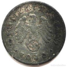 Monete antiche di Europa: ⚜️ A2212. 1940 D. 1 REICHSPFENNIG. NAZI III REICH. SUBASTA TODO ALEMANIA. Lote 286745628