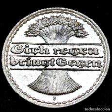 Monete antiche di Europa: ⚜️ A2211. SIN CIRCULAR. 1920 F. 50 PFENNIG. SUBASTA TODO ALEMANIA. Lote 286745698