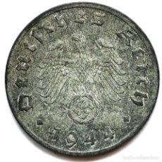 Monete antiche di Europa: ⚜️ A2208. 1944 G. 1 REICHSPFENNIG. NAZI III REICH. SUBASTA TODO ALEMANIA. Lote 286745803